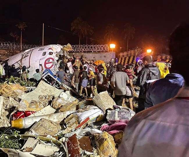 एयर इन्डियाको जहाज केरलको कोजिकोडमा दुर्घटना: १६ जनाको मृत्यु, १२३ जना घाइते