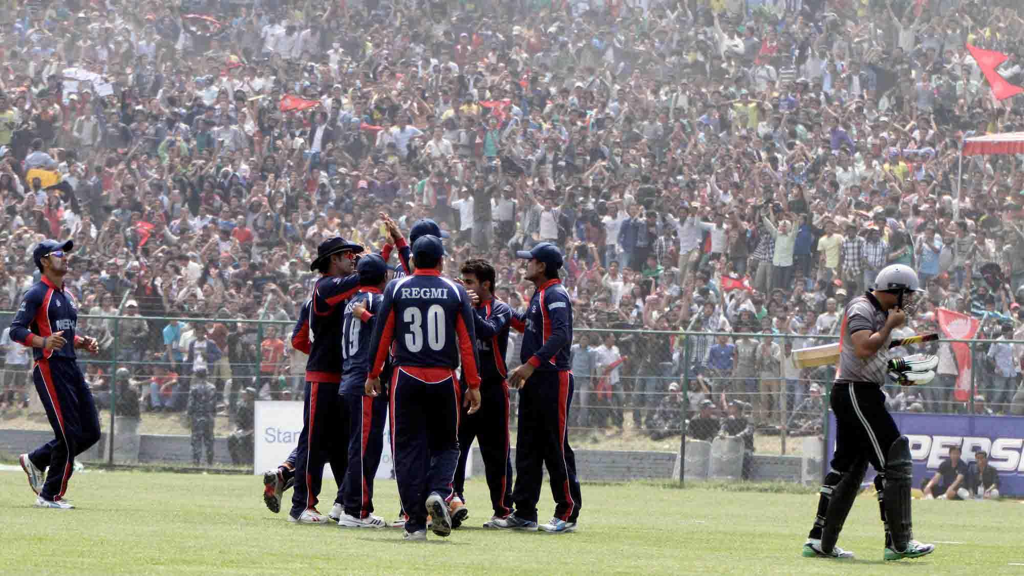 नेपाली क्रिकेट खेलाडीले पाए एक वर्षसम्म रोकिएको तलब
