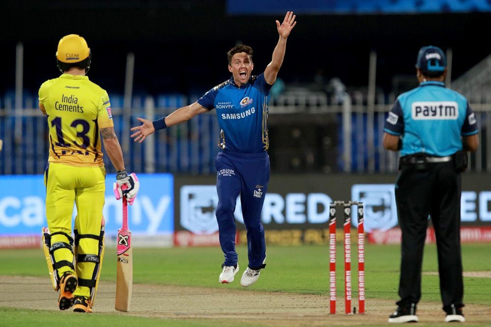 आईपीएल; चेन्नई सुपर किङ्सलाई हराउँदै मुम्बई शीर्ष स्थानमा अघि बढ्यो