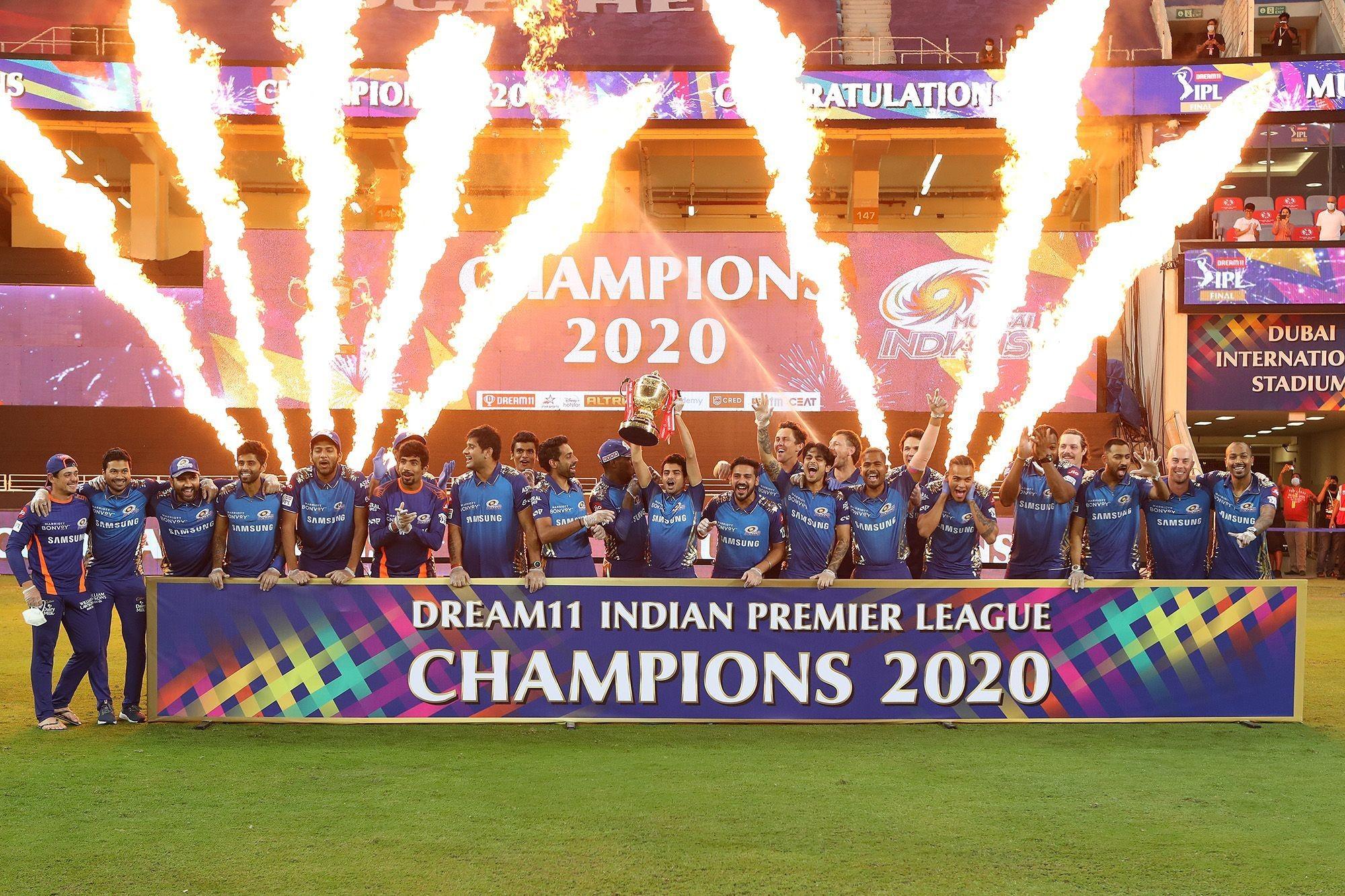आईपीएल: मुम्बई इण्डियन्स पाँचौं पटक आईपीएल च्याम्पियन