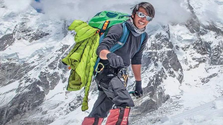 विनाअक्सिजन एक्लै सगरमाथा चढ्ने भारतीय नागरिक