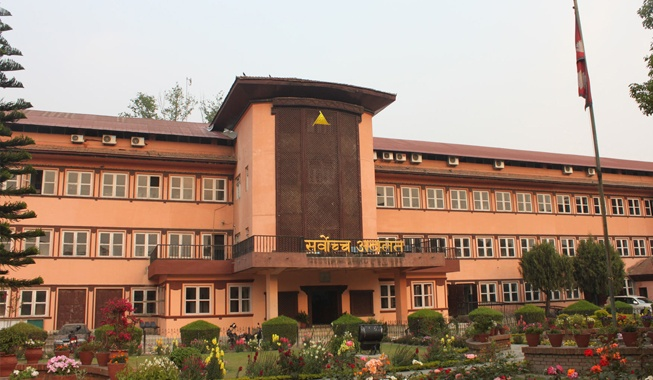संसद विघटनविरुद्धको रिट निवेदनमा सुनुवाइ प्रारम्भ