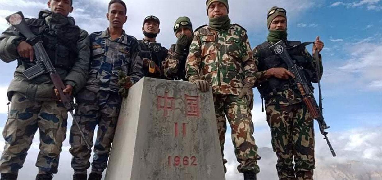 नेपाल-चिन बिचको 11 नं. सिमास्तम्भ भेटियो