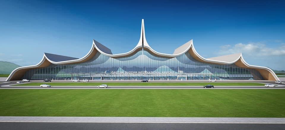 गौतमबुद्ध अन्तर्राष्ट्रिय विमानस्थलमा दोस्रो टर्मिनल भवनको निर्माणको तयारी