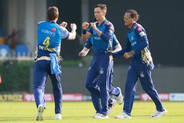 मुम्बई इण्डियन्सले सनराइजर्स हैदराबादलाई ३४ रनले पराजित, IPL-2020