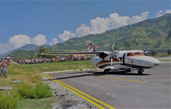 पर्यटनमन्त्री भट्टराईद्वारा सुदूरपश्चिमका तीन विमानस्थल उद्घाटन