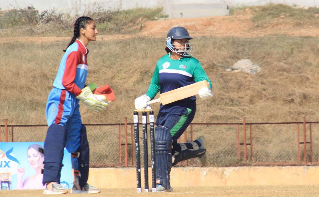 कविताको ह्याट्रिकको मद्दतमा सुदूरपश्चिम सेमिफाइनलमा: प्रधानमन्त्री कप, क्रिकेट