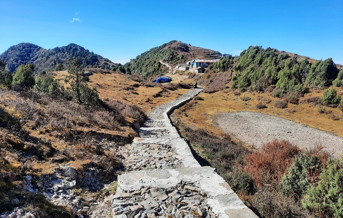 सिन्धुपाल्चोक हेलम्बुको हिमालयन ग्रेट ट्रेल, पदमार्ग निर्माण द्रुतगतिमा