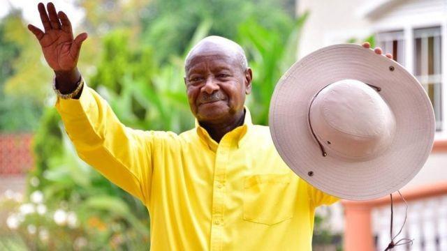 युगान्डाको राष्ट्रपतिमा  योवेरी मुसेभेनी पुनः निर्वाचित भए