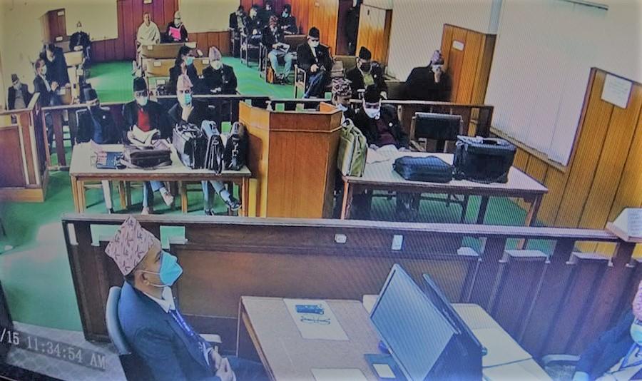 प्रतिनिधिसभा विघटन मुद्दाः सुनुवाई बिहिबार पनि जारी रहने (के हुँदैछ)
