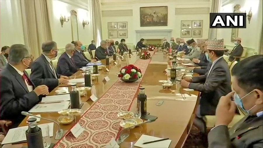 परराष्ट्रमन्त्रीस्तरीय संयुक्त आयोगको बैठक नयाँ दिल्लीमा सुरु