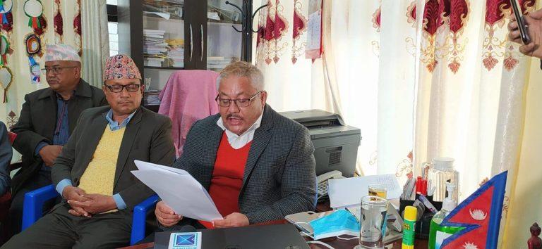सुदूरपश्चिम प्रदेशका आर्थिक मामिला तथा योजना मन्त्री बोहराद्वारा राजीनामा