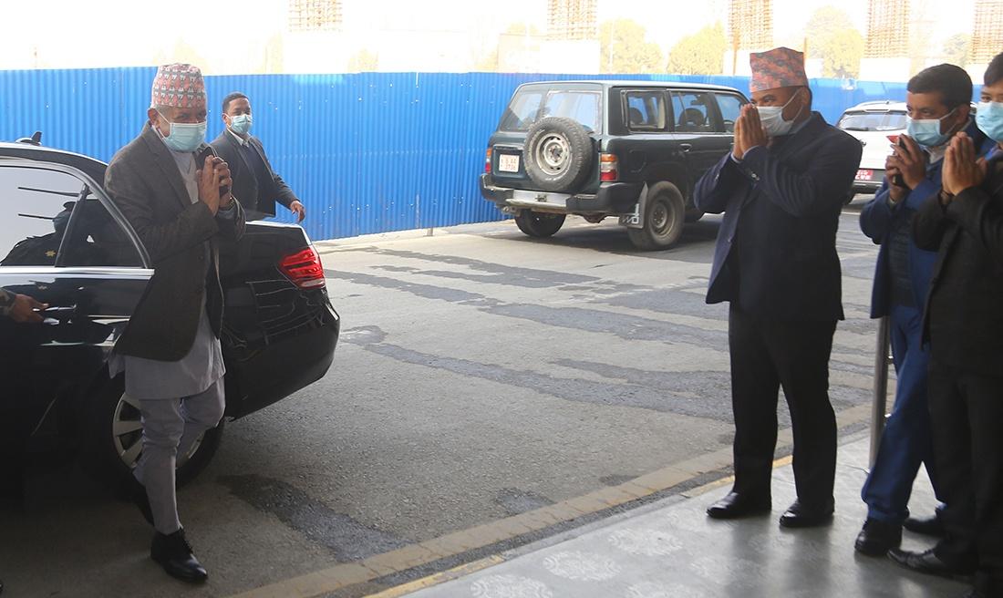 परराष्ट्रमन्त्री प्रदीप ज्ञवाली दिल्ली पुगे: भारतले सिमा विवादबारे छलफल नगर्ने