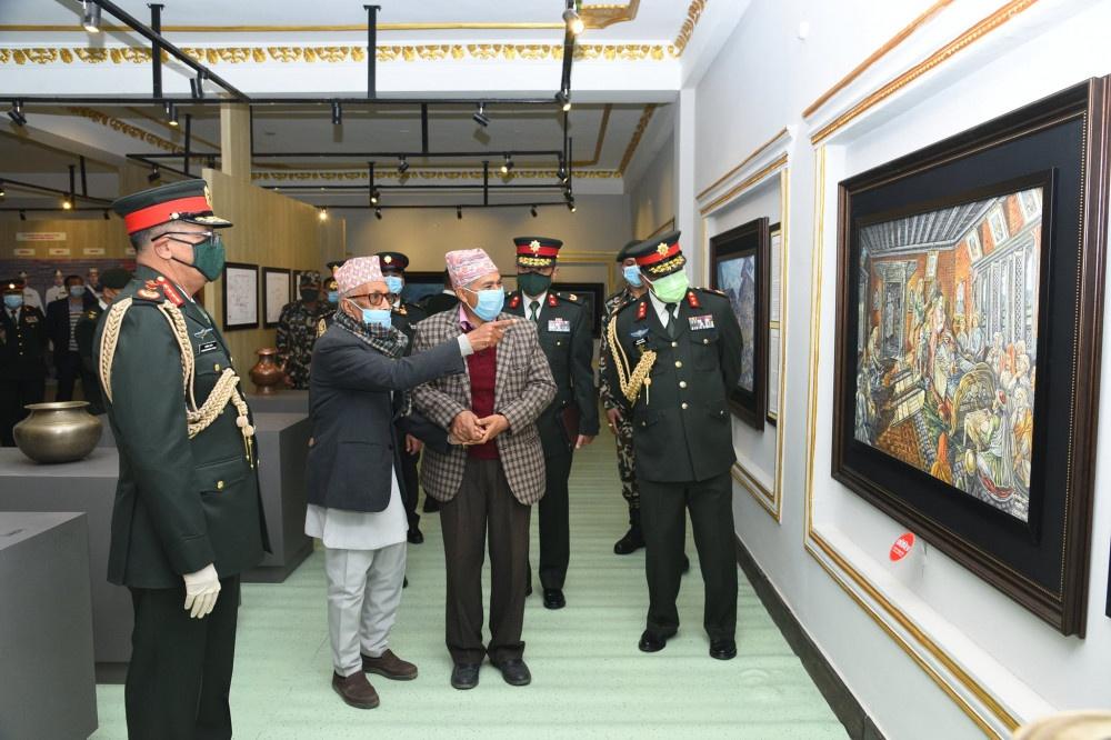 नेपाली सेनाको मुख्यालयमा  'पृथ्वीनारायण शाह अध्ययन केन्द्र'को स्थापना