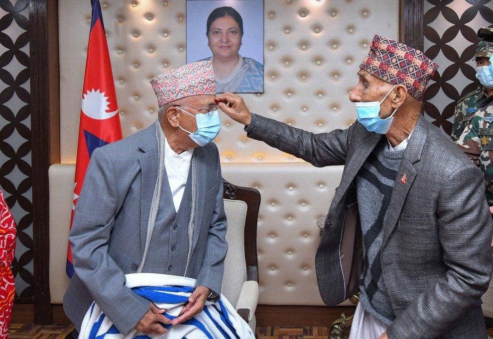 प्रधानमन्त्री केपी शर्मा ओलीले मनाए ७०औ जन्मदिन