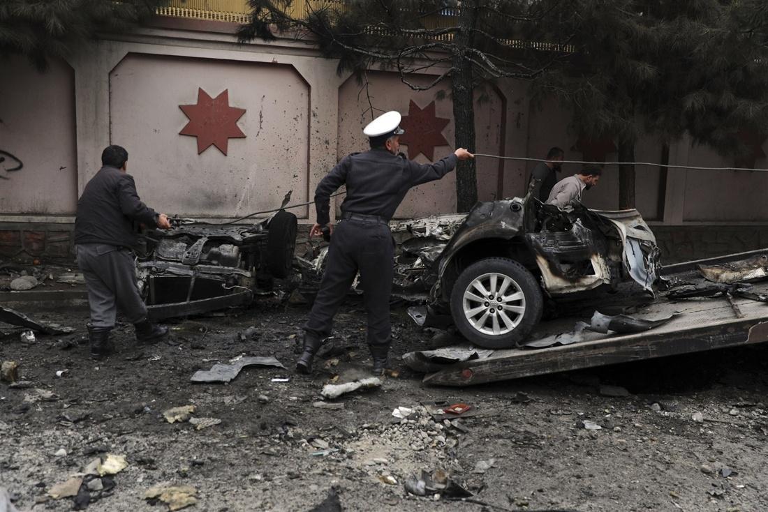 काबुलमा कार बम बिस्फोट