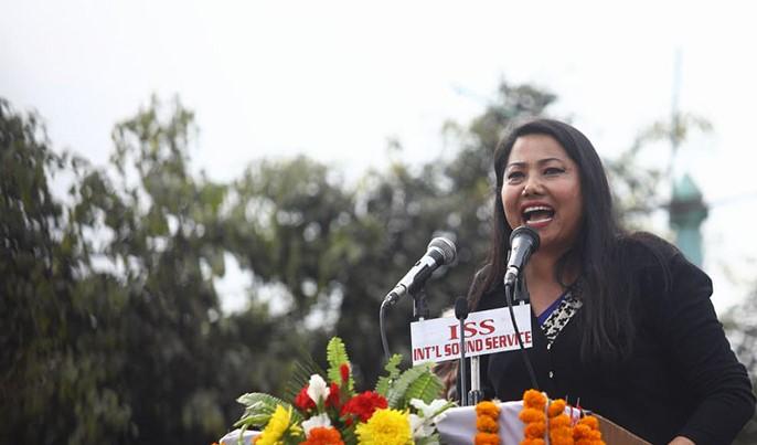 प्रहरीले सोधपुछका लागि बोलायो नेकपा नेतृ रामकुमारी झाँक्रीलाई, पक्राउको तयारी