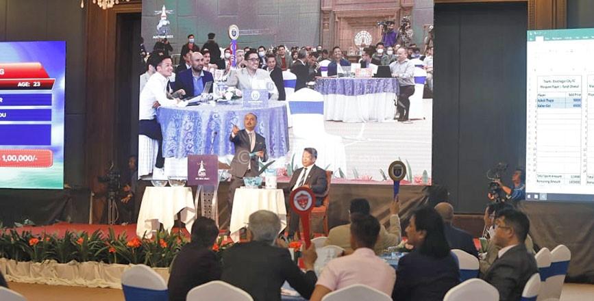 नेपाल सुपर लिग खेलाडी अक्सन सकियो, हेर्नुहोस कुन खेलाडी कुन टिममा कति पैसामा अनुबन्ध भए