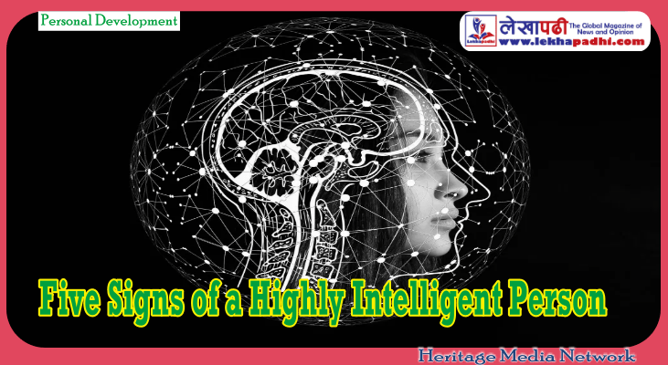 Five Signs of a Highly Intelligent Person