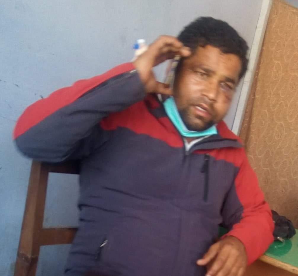 कन्चनपुर बेदकोट नगरपालिका ५ का वडाअध्यक्ष माथि आक्रमण