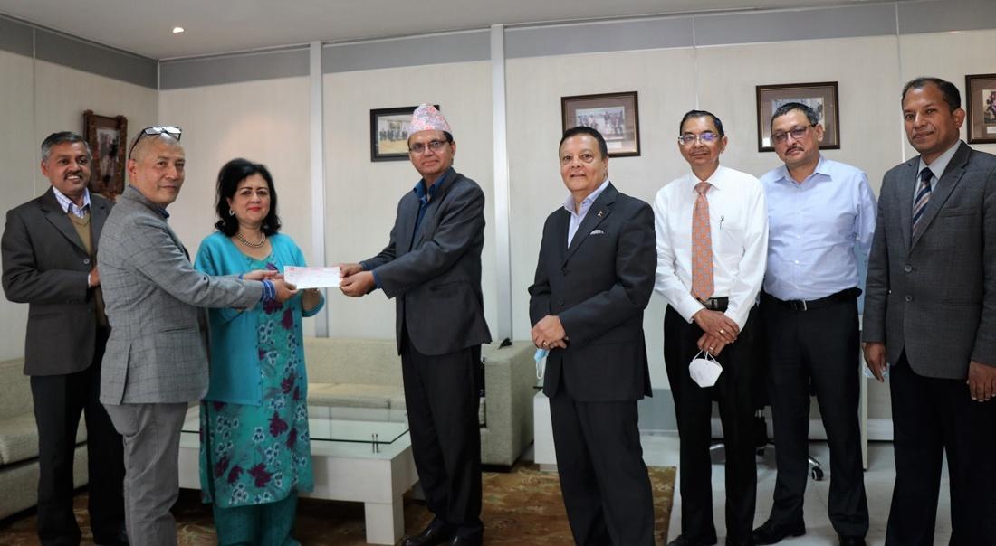 पाटन दरबार क्षेत्रका सम्पदा पुनर्निर्माण गर्न हिमालयन बैंकको एक करोड सहयोग
