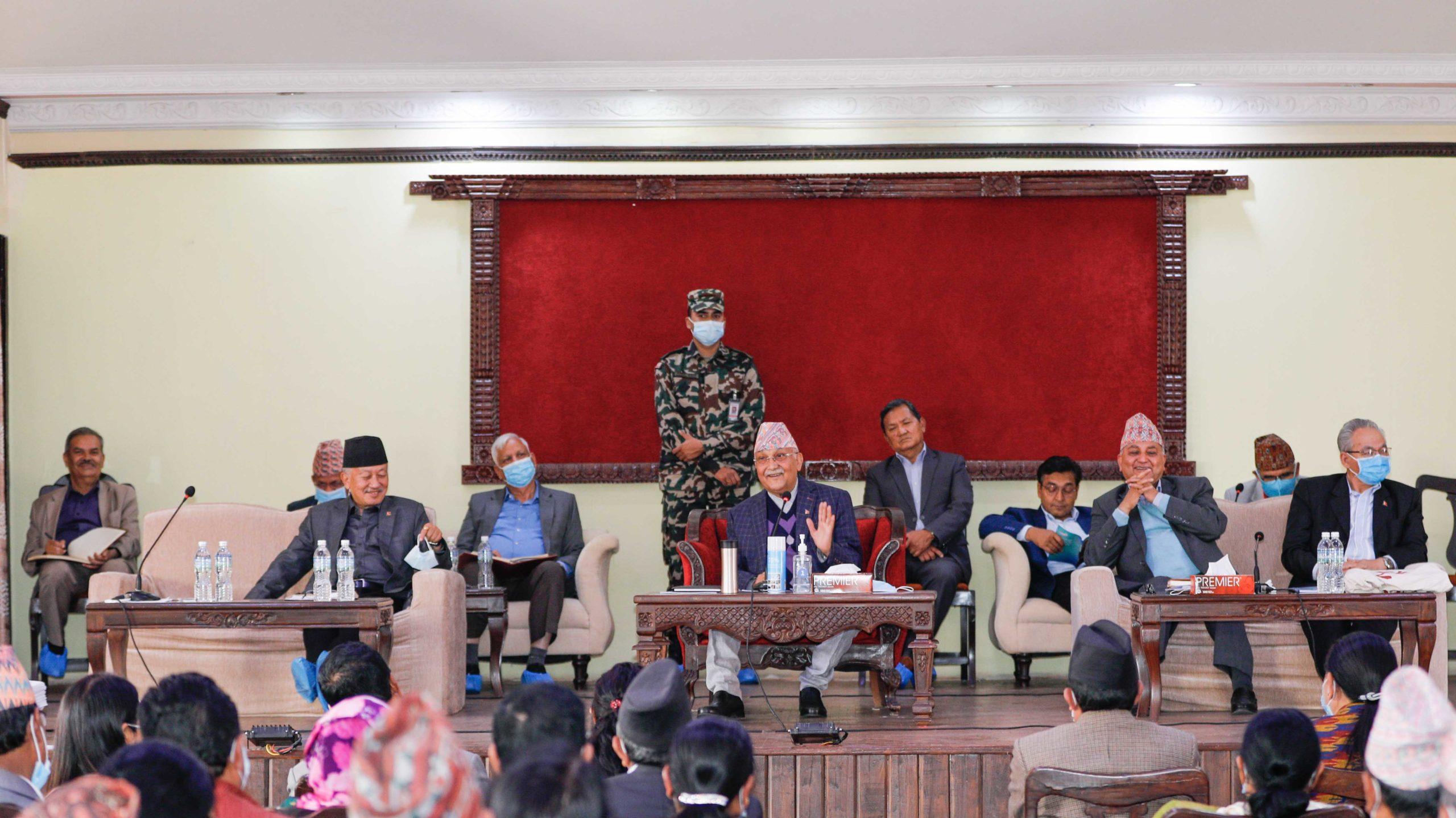 नेपालसहितका नेताहरुलाई स्पष्टीकरण सोध्ने एमाले केन्द्रीय समितिको निर्णय