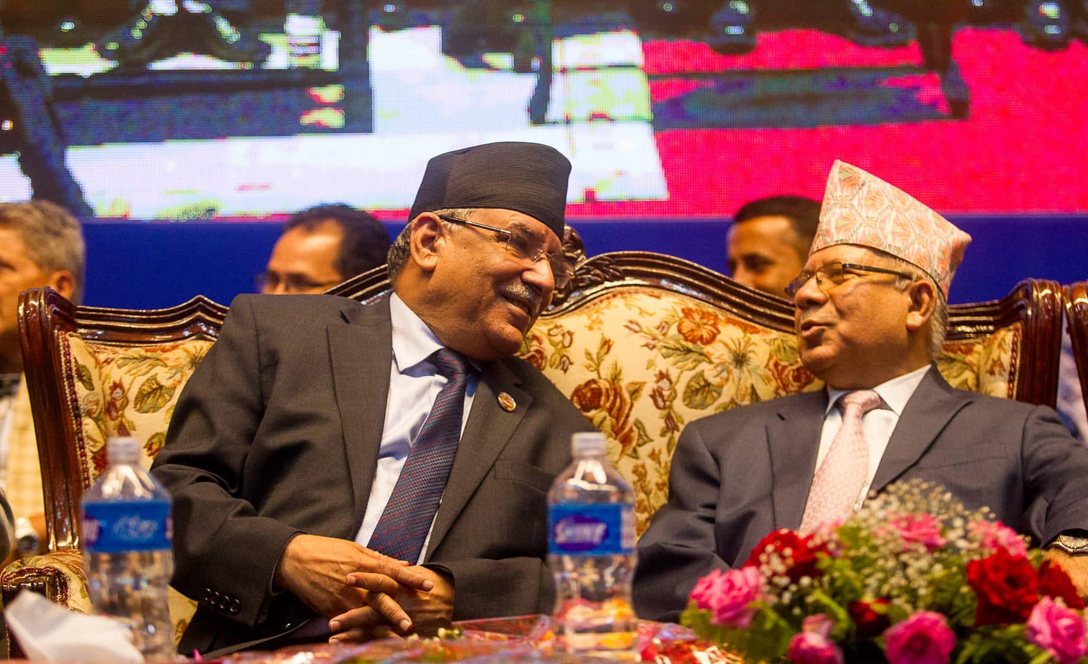 प्रचण्ड–नेपाल समूहको स्थायी कमिटी बैठक सर्यो, दिउसो ३ बजे हुने