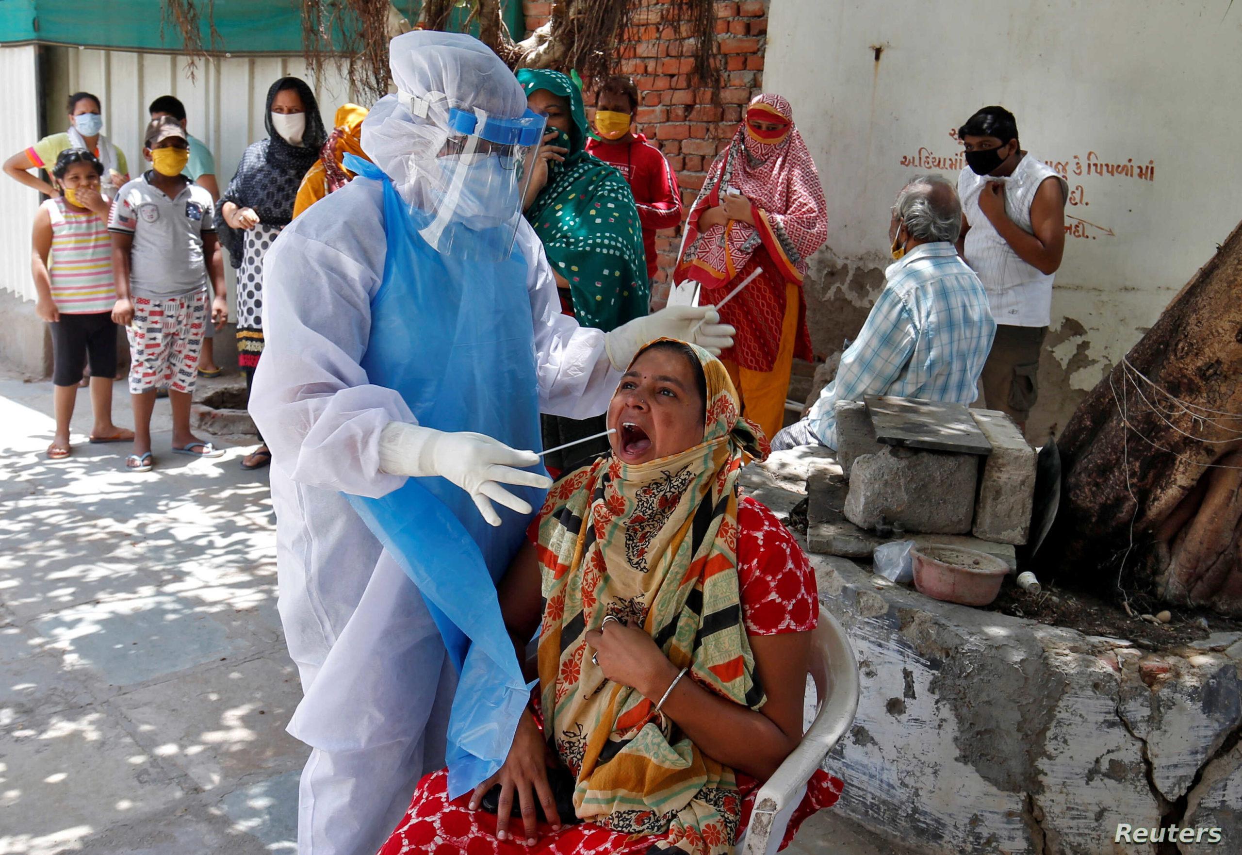 भारतमा तीन महिना यताकै उच्च कोरोना संक्रमण, आंशिक लकडाउन र कर्फ्यु जारी