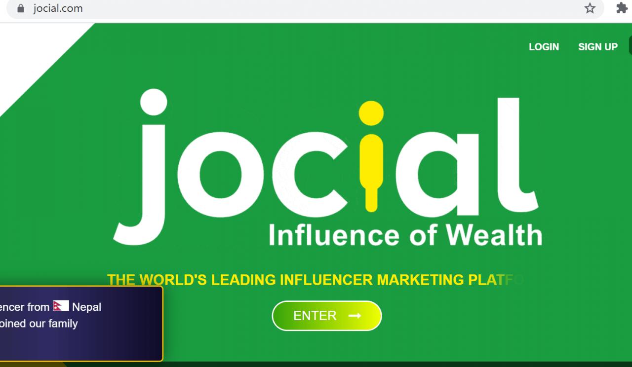 जोसियल नामक डिजिटल मार्केटिङ्क कम्पनीको नेपालमा अबैध ठगी धन्दा