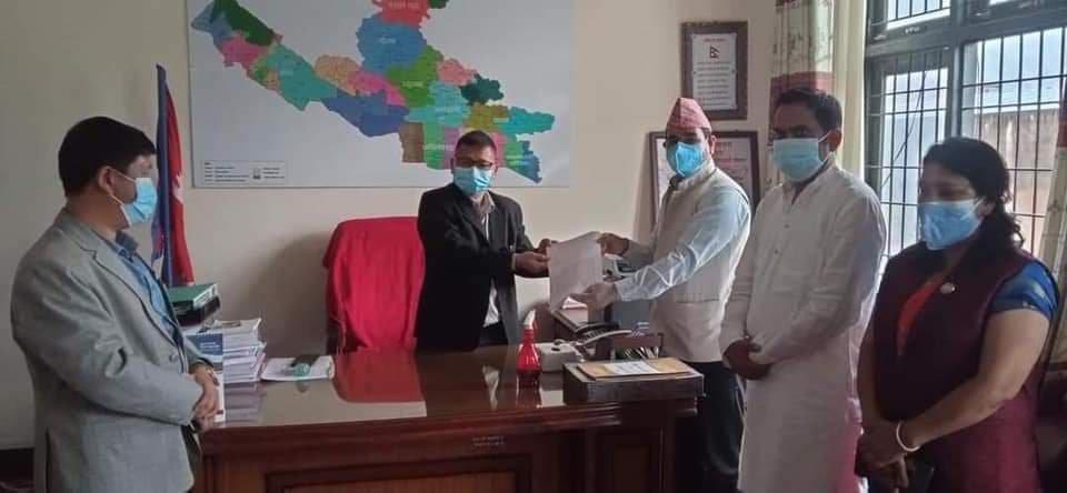 लुम्बिनीका मुख्यमन्त्री पोखरेलविरुद्ध पुन: अविश्वासकाे प्रस्ताव दर्ता