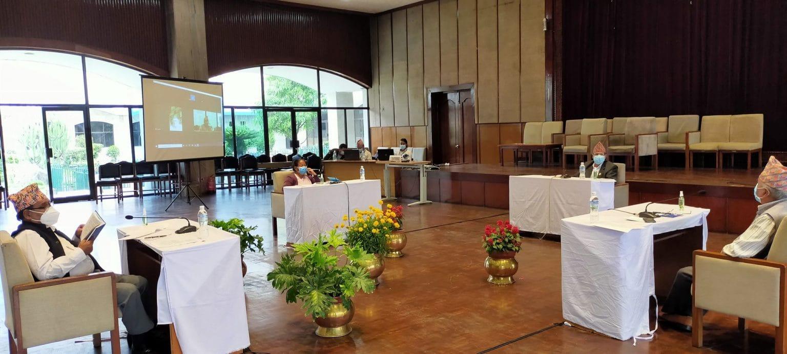 प्रतिनिधि सभा विघटन असंवैधानिक ः चार पूर्व सभामुख