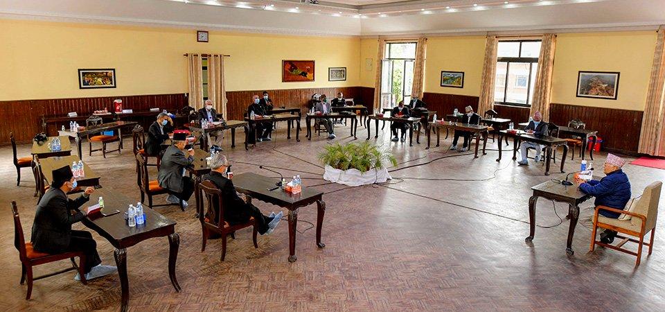 माधव नेपालसहित चार नेताको कारबाही फिर्ता लिने एमालेको निर्णय