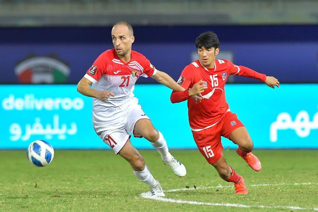 नेपाल जोर्डनसँग ३-० गोल अन्तरले पराजित