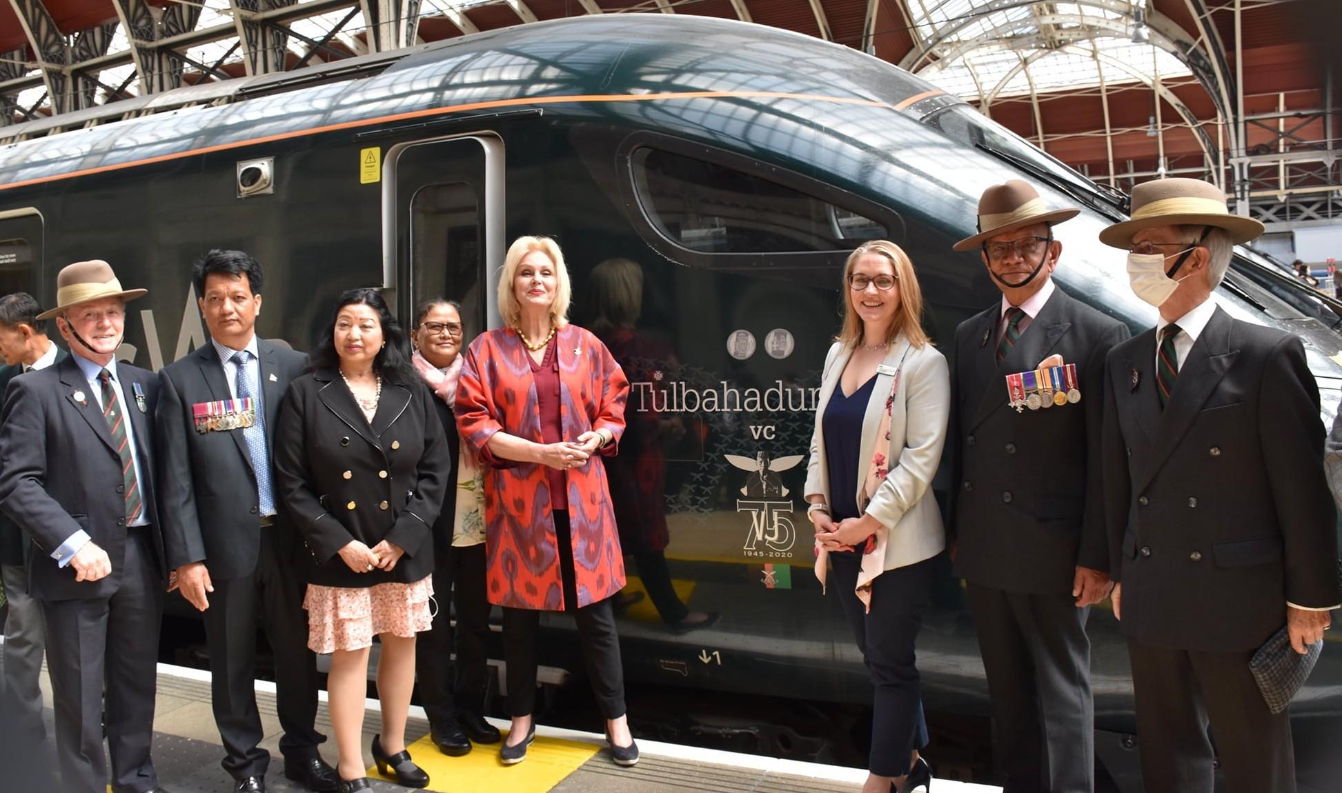 बेलायतमा भिक्टोरिया क्रस प्राप्त तुलबहादुर पुनको नाममा रेलवे सेवा शुरु