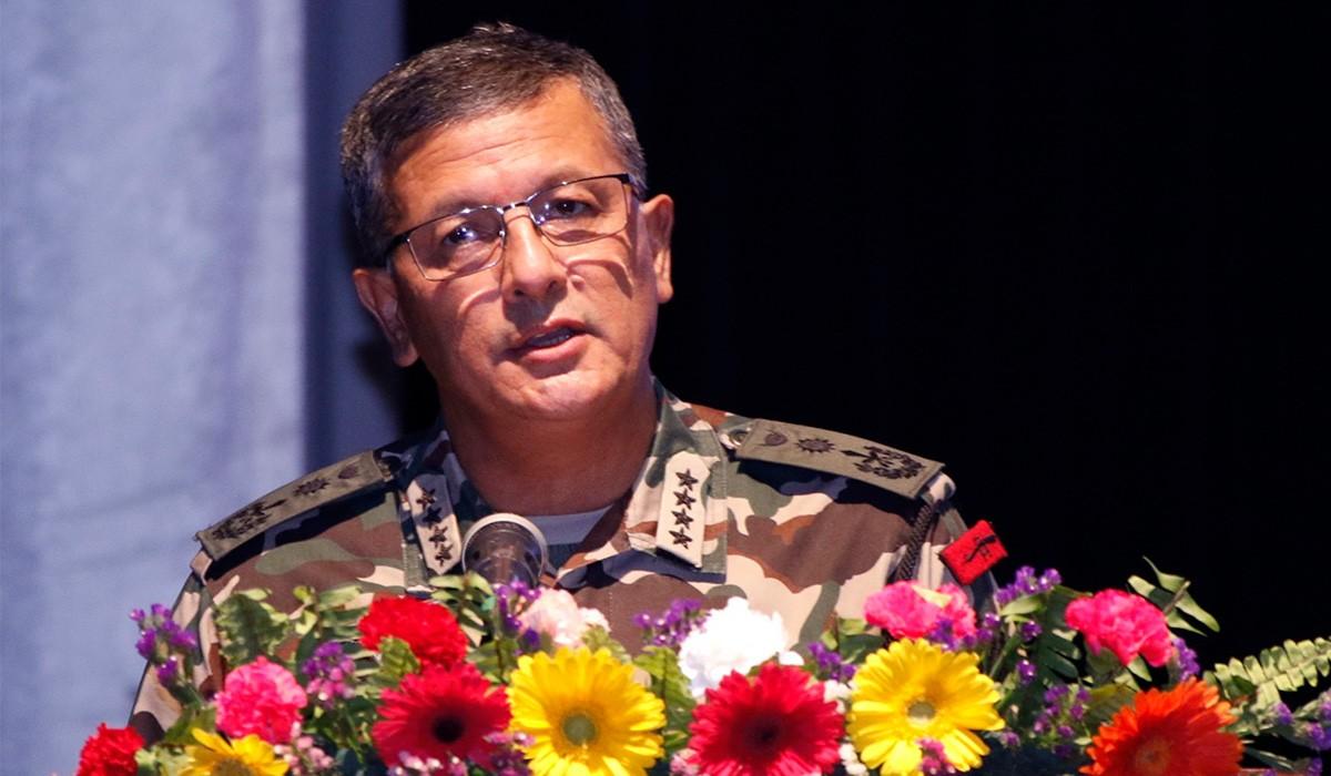 हिमाली पर्यावरणले राष्ट्रिय सुरक्षासँग प्रत्यक्ष सरोकार राख्छ : प्रधानसेनापति थापा
