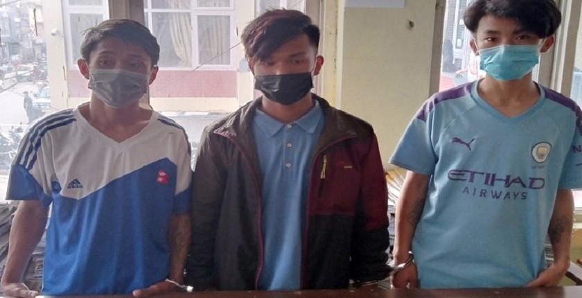 बौद्ध क्षेत्रमा मोबाइल लुट्ने गिरोह पक्राउ