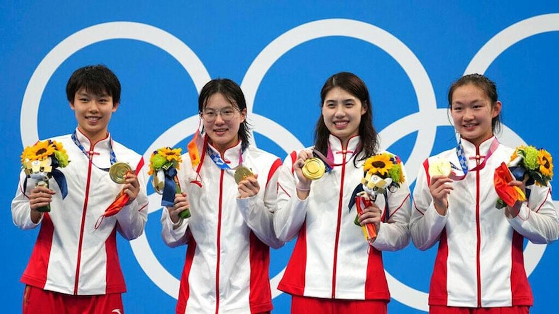 चीनले टोकियो ओलम्पिकमा बनायो विश्व कीर्तिमान