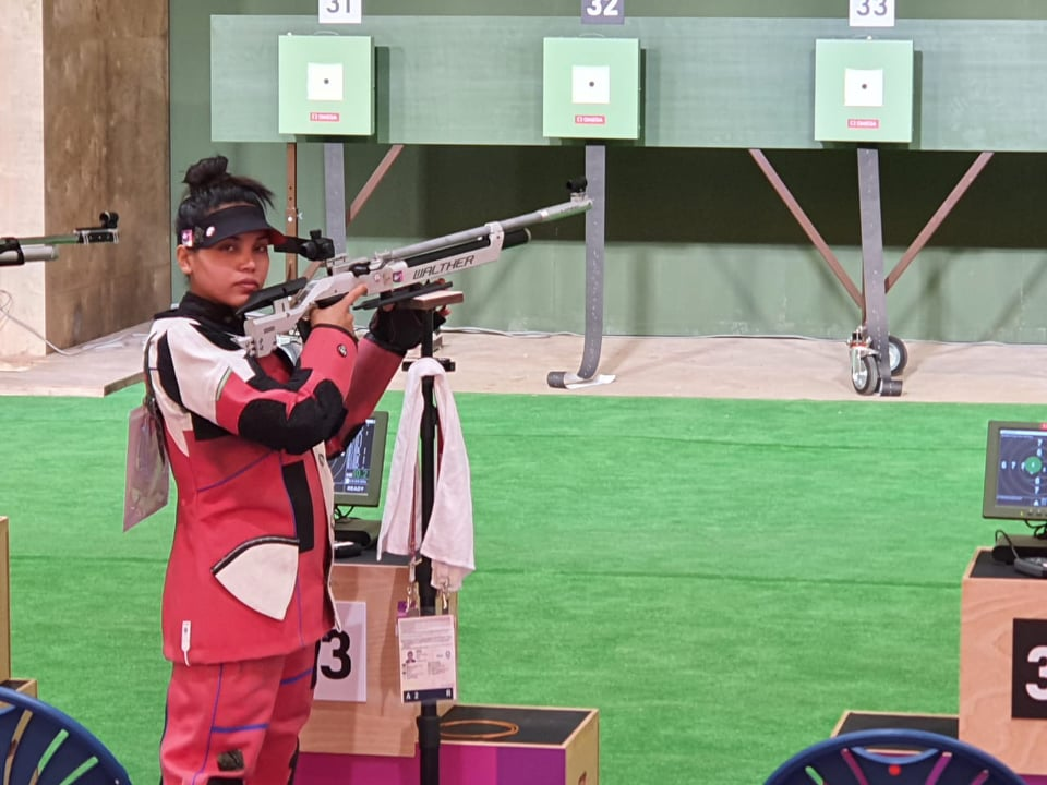 टोकियो ओलम्पिकबाट बाहिरिइन कल्पना, रहिन ४६औ स्थानमा