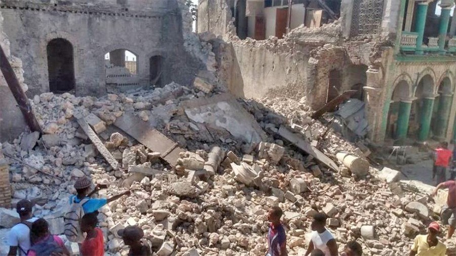 हाइटी भूकम्प अपडेट: कम्तीमा ३०४ जनाको मृत्यु, १,८०० जनाभन्दा बढी घाइते