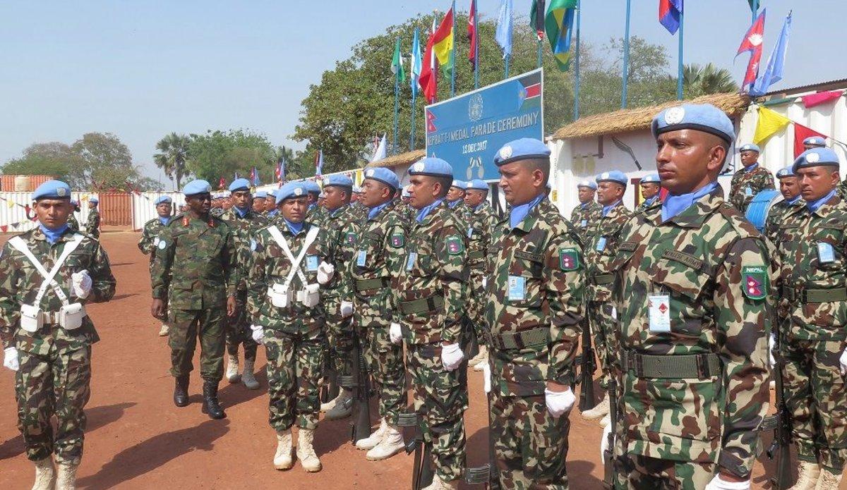 बिश्वभरि शान्ति मिसनमा सैनिक पठाउने राष्ट्रहरूको वरीयतामा नेपाल दोस्रो