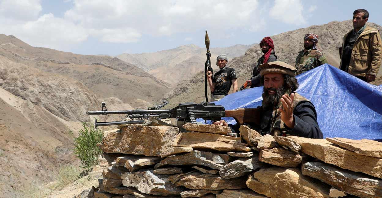 अफगानिस्तानमा गृहयुद्ध, दशौँ हजार नागरिक विस्थापित