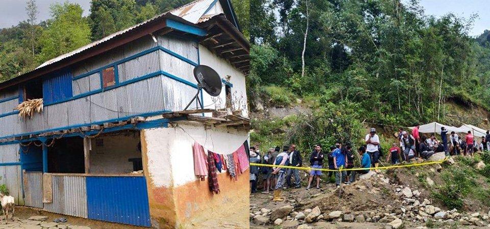 सङ्खुवासभा हत्याकाण्ड [UPDATE] : हत्यारा पत्ता नलाग्दा स्थानीय त्रसिद, डरले छिमेकीले घर छाडे