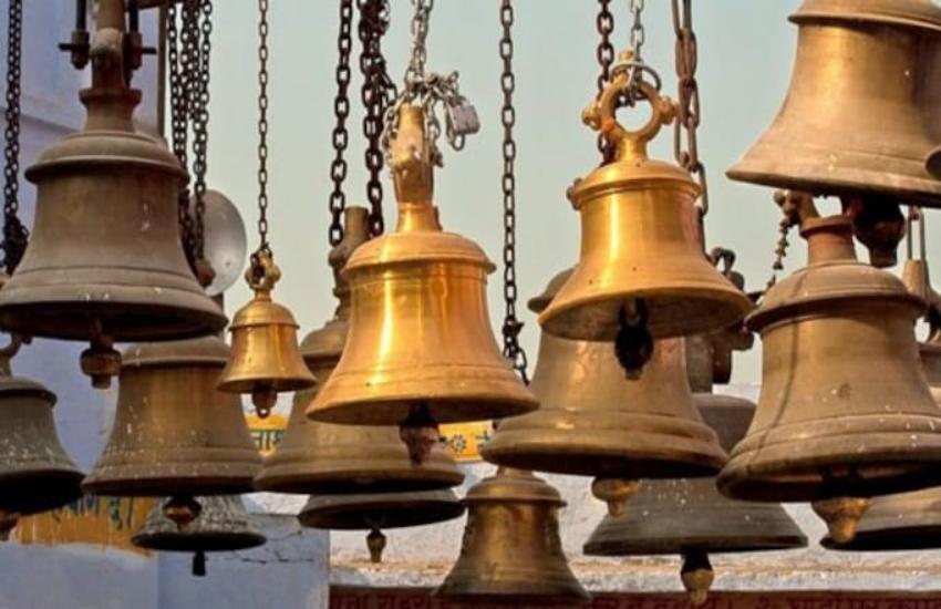 मन्दिरका पुराना घण्टी ६ क्विन्टल ६१ किलो महेन्द्रनगरका व्यापारीको गोदामबाट बरामद